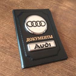 Обложка на документы с логотипом автомобиля