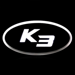 2d светящийся логотип kia k3 ledist 2d логотипы
