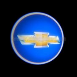 подсветка дверей с логотипом chevrolet 5w mini подсветка дверей mini 5w (врезная)