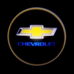 беспроводная подсветка дверей с логотипом chevrolet 5w беспроводная подсветка дверей 5w