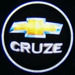 беспроводная подсветка дверей с логотипом chevrolet беспроводная подсветка 7w