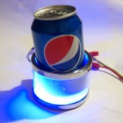 автомобильный держатель стаканов, бутылок, банок с подсветкой держатель стаканов, бутылок, банок
