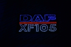 большой светодиодный логотип daf xf105 логотипы даф