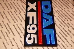 большой светодиодный логотип daf xf95 логотипы даф