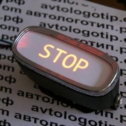 проектор заднего бампера stop проектор логотипа на мотоцикл