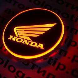 2d светящийся логотип honda на мотоцикл мотоциклы