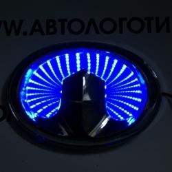 3d светящийся логотип great wall 3d логотипы