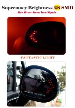светодиодные поворотники в зеркала (динамические) led повторители в зеркала динамические