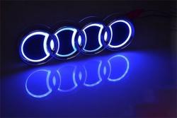 5d светящийся логотип audi 5d логотипы