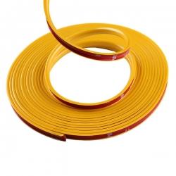 жёлтый шнур для отделки дисков молдинг лента для отделки салона и кузова