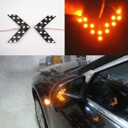 повторители поворотов (моргающие) led повторители в зеркала моргающие
