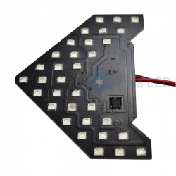 повторители поворотов (моргающие) 33 led led повторители в зеркала моргающие