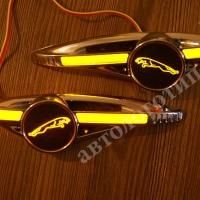 Светодиодные поворотники с логотипом Jaguar