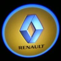 Беспроводная подсветка дверей с логотипом Renault 5W