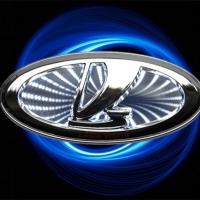 3D светящийся логотип VAZ (ВАЗ)