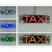 Стоп сигнал с логотип TAXI