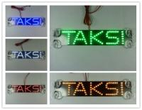Стоп сигнал с логотип TAKSI