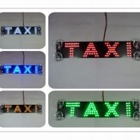 Стоп сигнал с логотип TAXI+