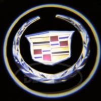 Врезная подсветка дверей CADILLAC 7W