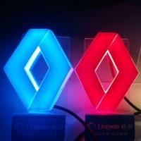 4D светящийся логотип RENAULT