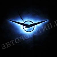 Подсветка логотипа + логотип UAZ (УАЗ)