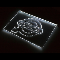 Табличка светящаяся Volvo