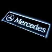 Табличка Mercedes