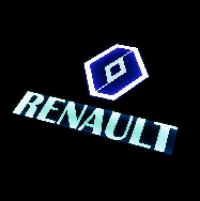 Табличка светящаяся в спальник RENAULT