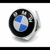 Болты крепления гос номера с логотипом BMW