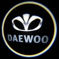 Подсветка дверей с логотипом Daewoo 5W mini