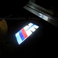 Врезная подсветка дверей BMW ///M 7W