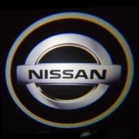 Подсветка дверей с логотипом Nissan 5W mini