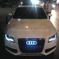 4D светящийся логотип AUDI, перед