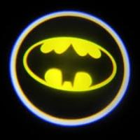 Внешняя подсветка дверей с логотипом Batman 5W