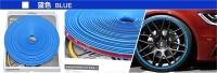 синяя лента для отделки дисков молдинг лента для отделки салона и кузова
