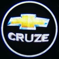 Внешняя подсветка дверей с логотипом CHEVROLET CRUZE 7W