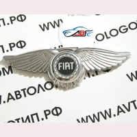 Логотип Fiat с крыльями