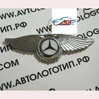 Логотип Mercedes с крыльями