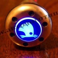 Рукоятка для КПП с подсветкой Skoda