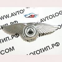Логотип Geely с крыльями
