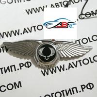 Логотип SsangYong с крыльями