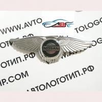 Логотип Nissan с крыльями