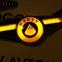 Светодиодный поворотник с логотипом GEELY