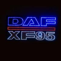 Большой светодиодный логотип DAF XF95
