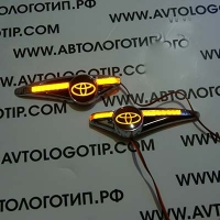 Светодиодный поворотник с логотипом TOYOTA