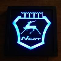 Светящийся логотип Газель Некст