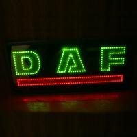 Светящийся логотип картина DAF