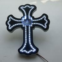 """светодиодная табличка крест логотип """"символы"""""""