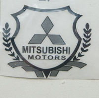 Наклейка на автомобиль Mitsubishi