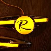 Светодиодные поворотники с логотипом R